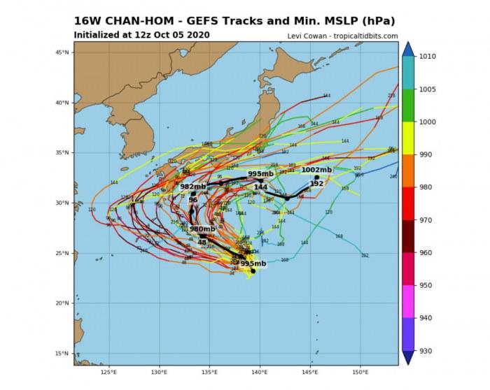 typhoon-chanhom-japan-model-tracks