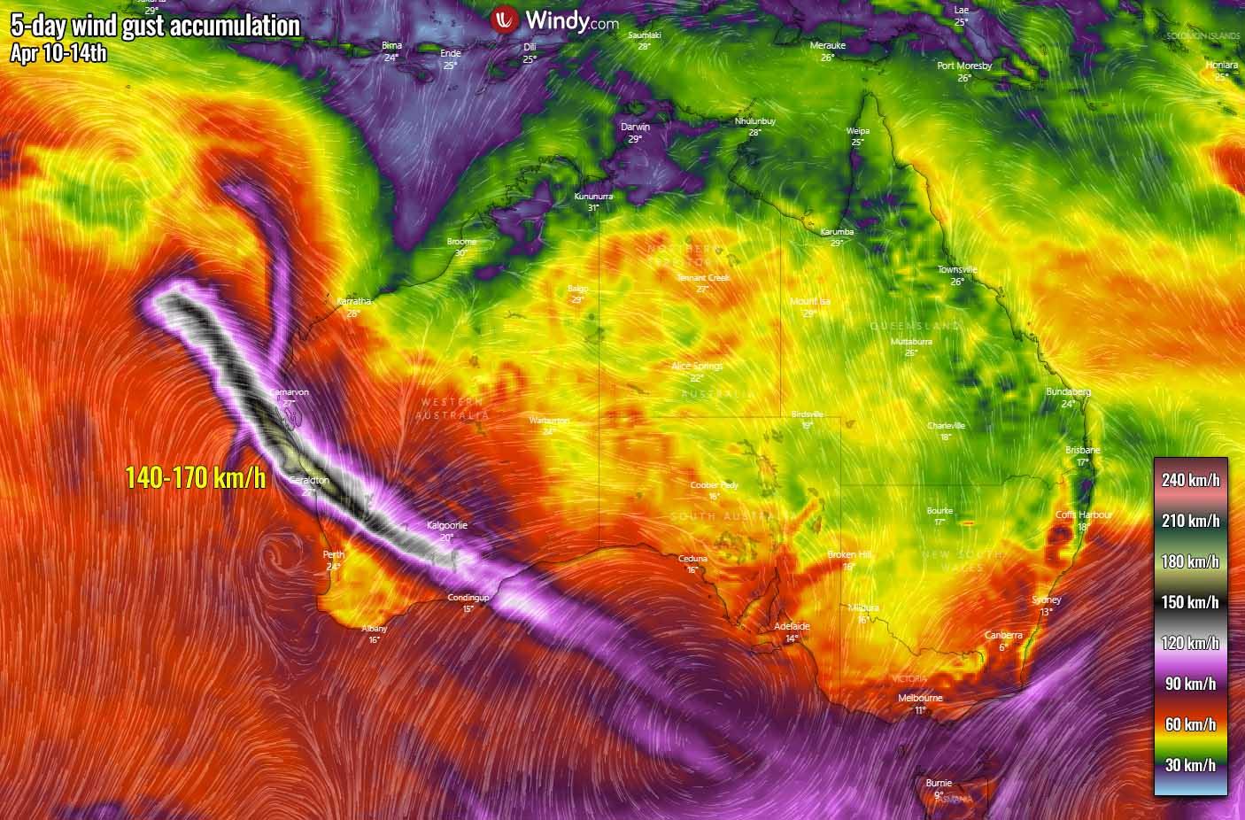 fujiwhara-effect-cyclone-seroja-odette-australia-landfall-winds