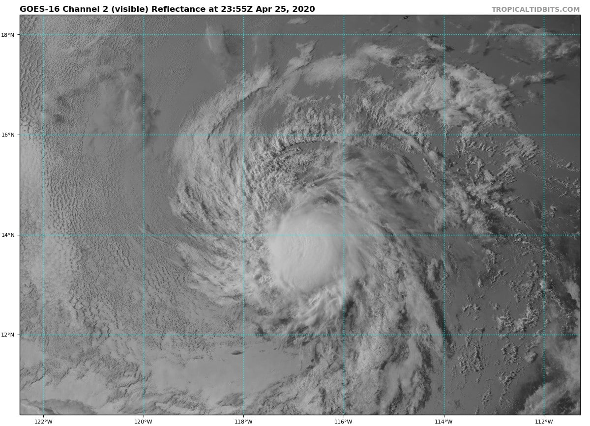 visible satellite depression one-e