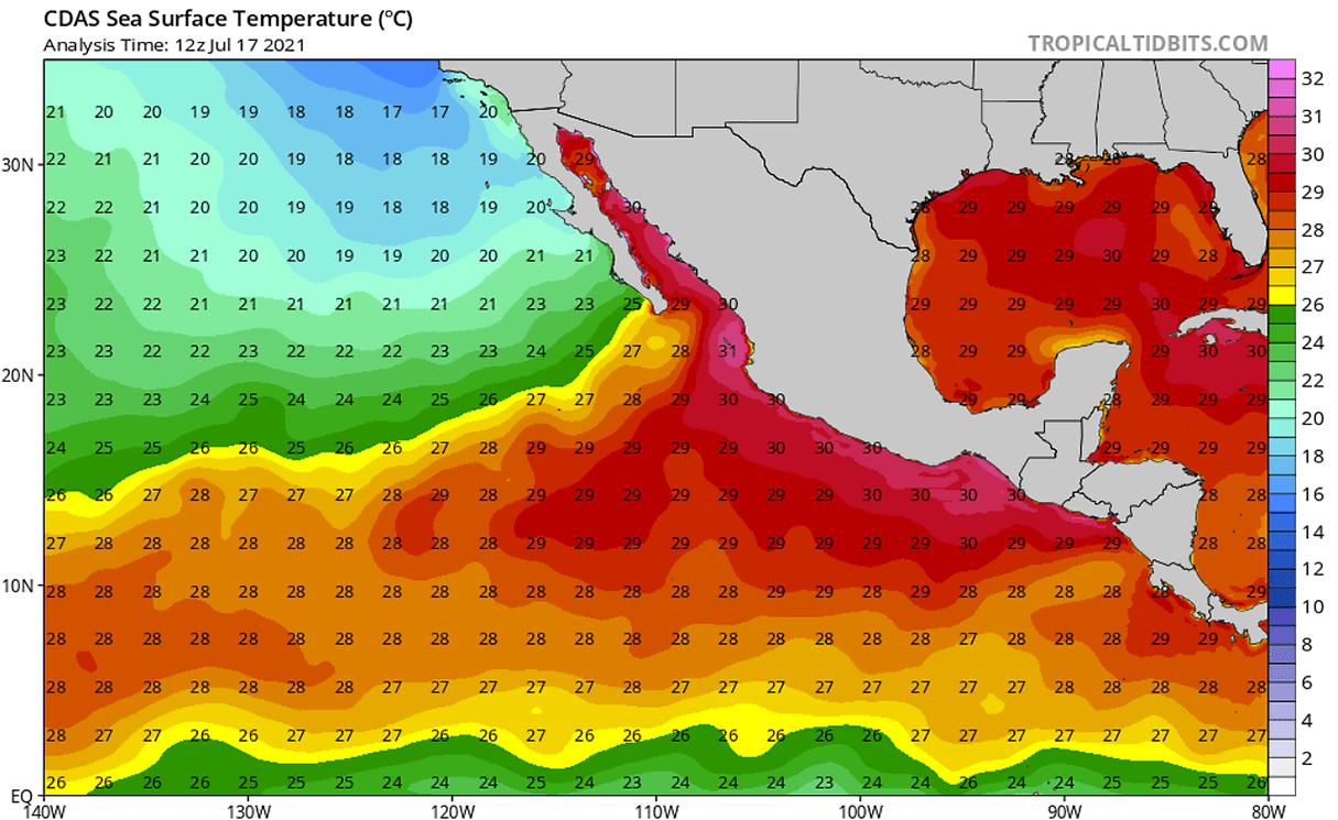 hurricane-season-2021-eastern-pacific-felicia-sea-surface-temperature