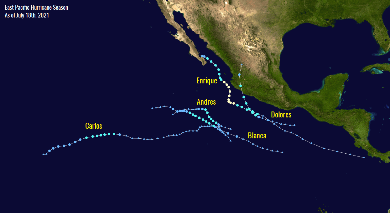 hurricane-season-2021-eastern-pacific-felicia-statistics