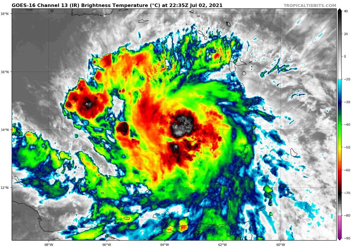 hurricane-season-2021-tropical-storm-elsa-caribbean-infrared-satellite-view