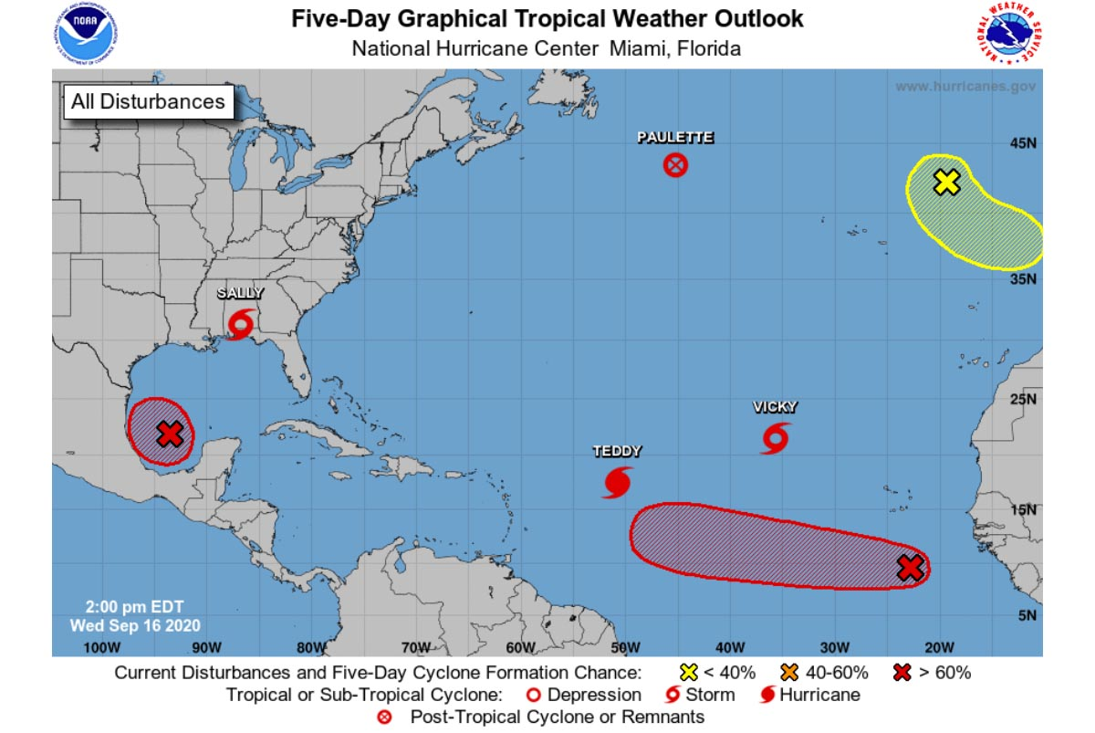 Hurricane Teddy Exploded Into Category 4 Severe Impact To Bermuda Possible