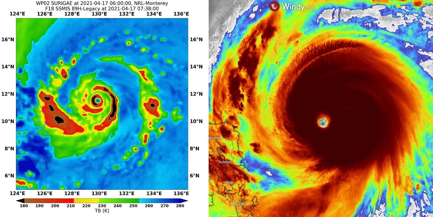 record-super-typhoon-surigae-tropical-cyclone-philippines-satellites