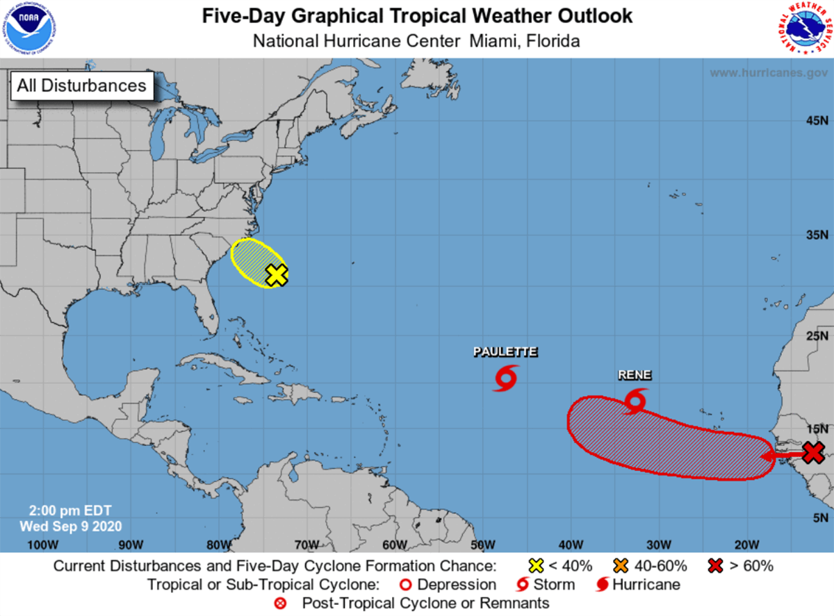 Could Sally Be The Next Potentially Strong Atlantic Tropical Storm