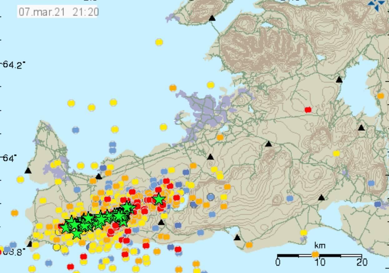 Island-Erdbeben-Schwarm-Vulkan-Ausbruch-2021-Reykjanes-letzte-48-Stunden