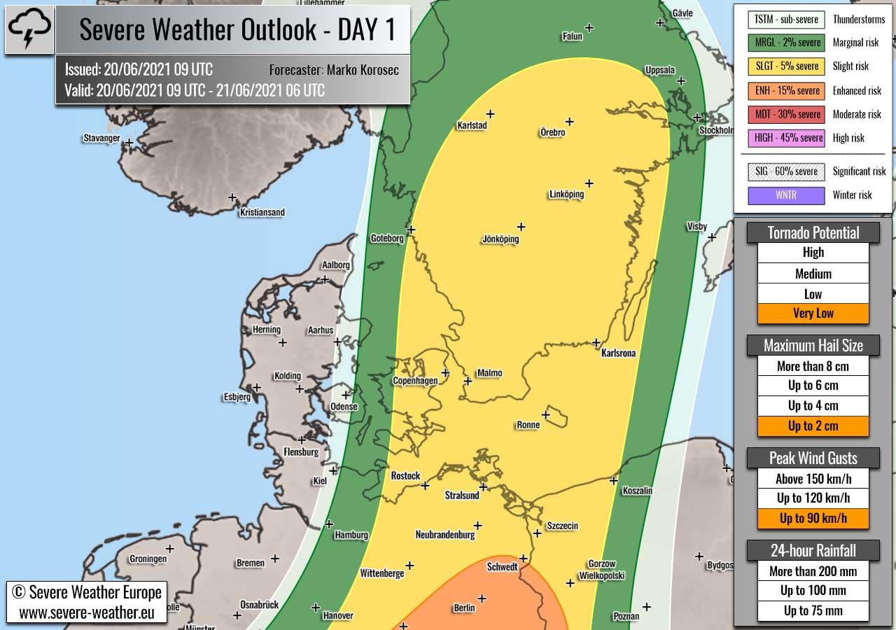 weather-forecast-june20th-2021-sweden