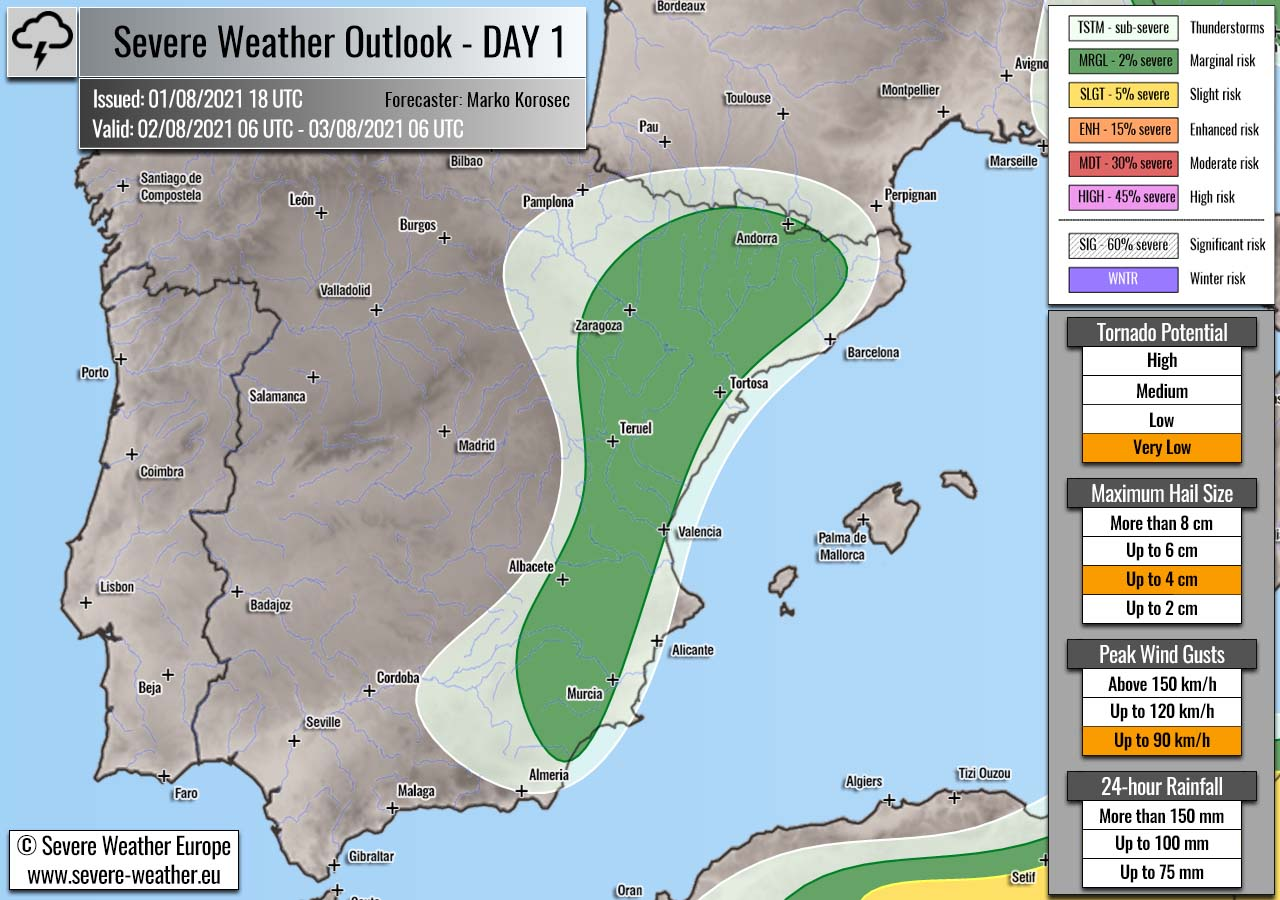 severe-weather-forecast-august-2nd-2021-spain
