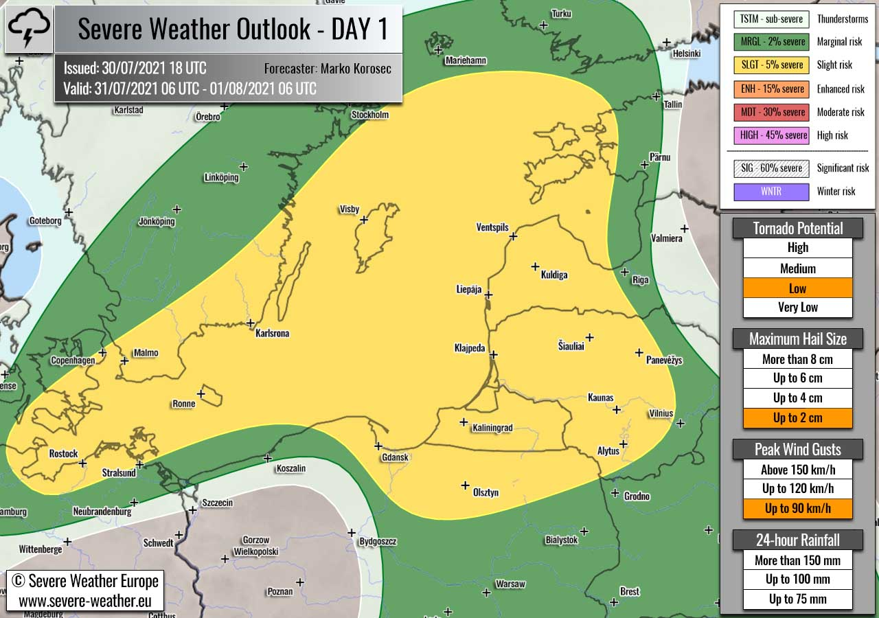 severe-weather-forecast-july-31st-2021-latvia-lithuania-baltic-region