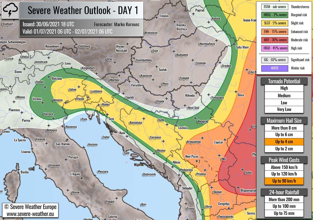 severe-weather-outlook-july-1st-2021-slovenia-croatia-bosnia