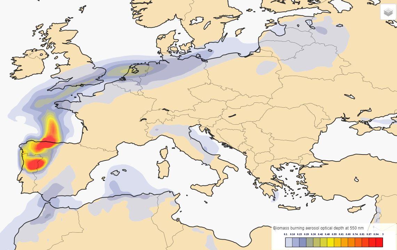 Benelux north germany parts of denmark sweden poland and baltic 17102017biomassaerosolopticaldepthcams1 gumiabroncs Choice Image
