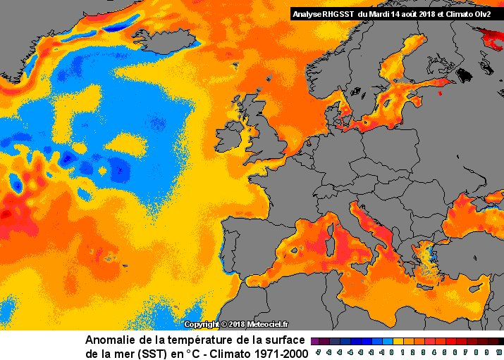 Very Warm Mediterranean Sea And What That Means For Severe Weather