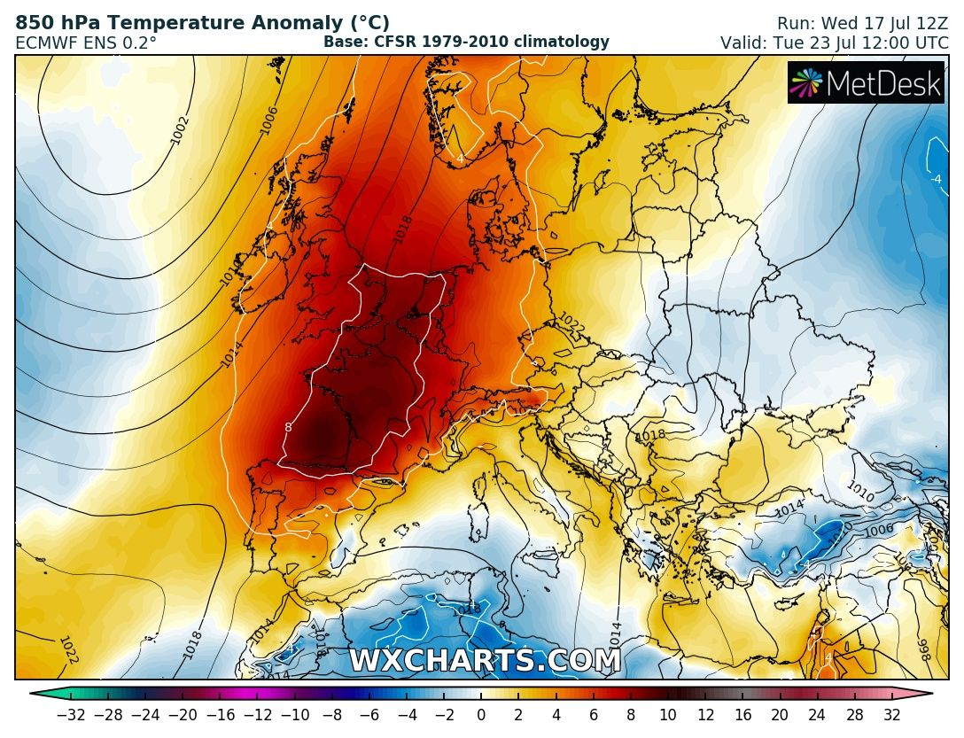 HEAT WAVE* A new significant heat wave with peak