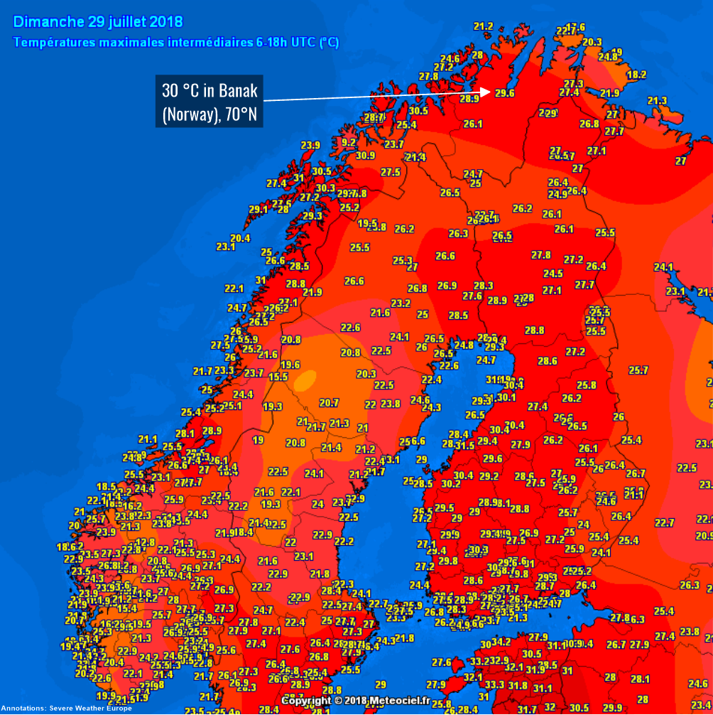 Lucifer heatwave MAPPED: Where are the hottest ...  |Weather Forecast Map Europe
