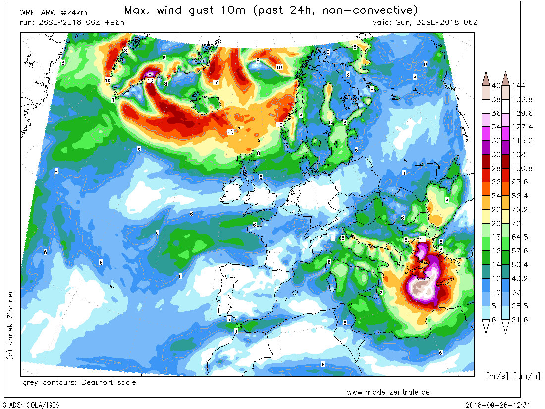 UPDATE: Increasing potential for a strong CAT 1 medicane to