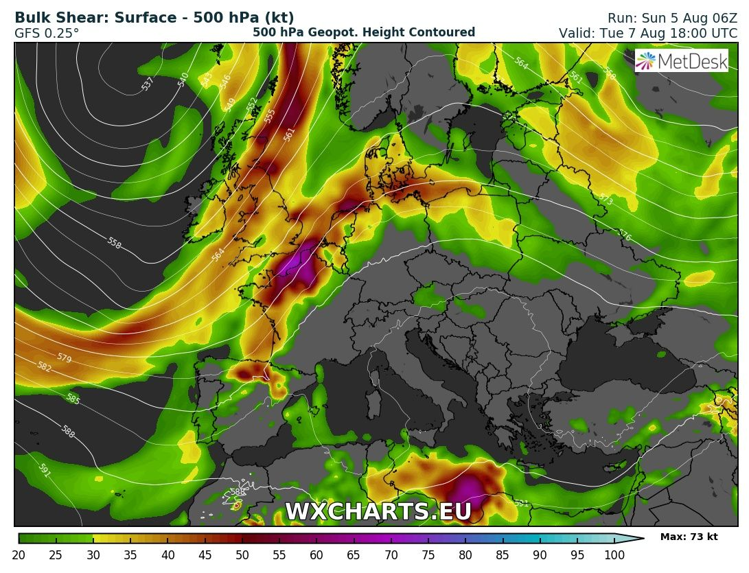 A hot week with severe weather ahead for much of Europe (Aug 6 – 12