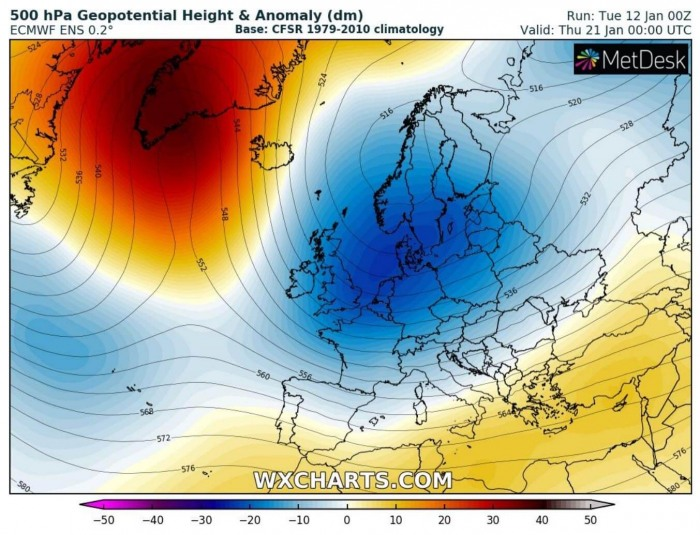 extreme-cold-winter-weather-forecast-europe-ecmwf-model-next-week
