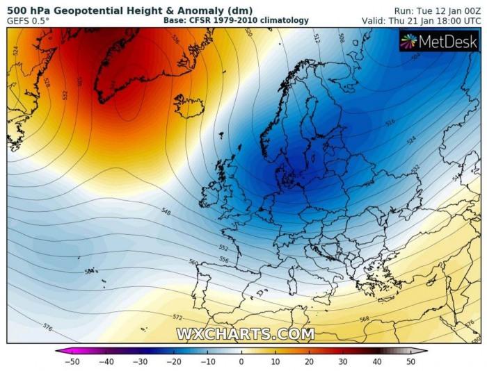 extreme-cold-winter-weather-forecast-europe-gfs-model-next-week