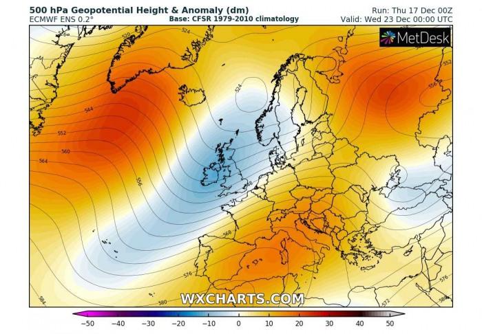 extreme-warm-forecast-europe-pattern-wednesday