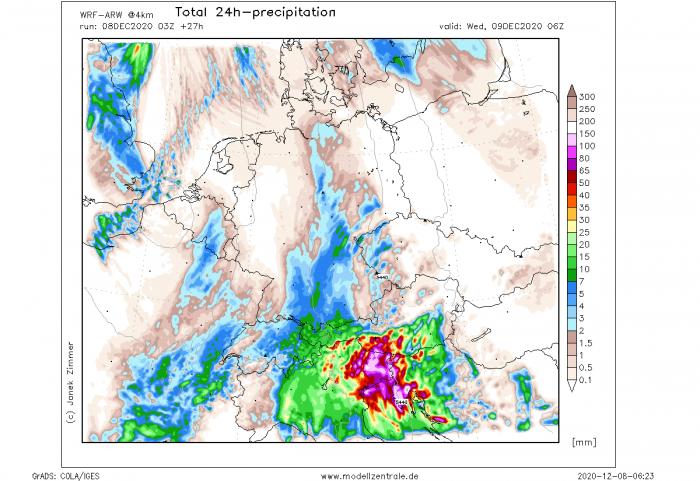 floods-snow-slovenia-italy-wrf-model-rainfall