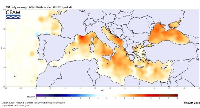 medicane-cassilda-mediterranean-temperature-anomaly
