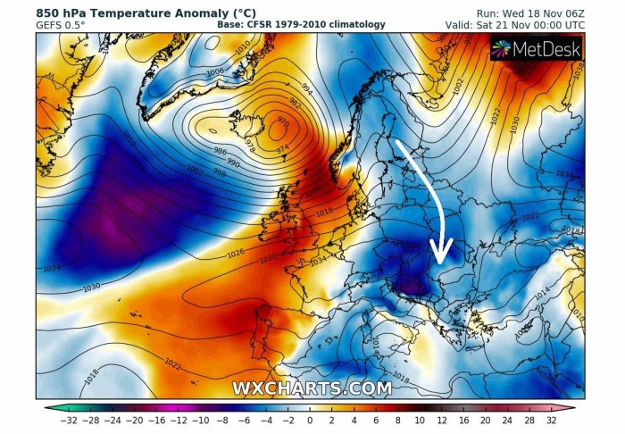 warm-wave-europe-pattern-cold-blast-friday