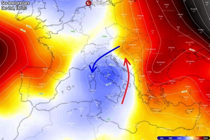 winter-forecast-snowstorm-slovenia-pressure