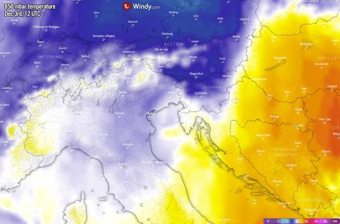 winter-forecast-snowstorm-slovenia-temperature-thursday-afternoon