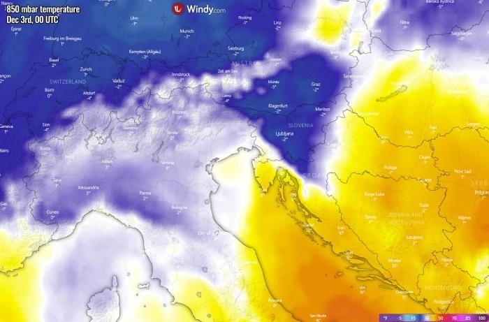 winter-forecast-snowstorm-slovenia-temperature-thursday-morning