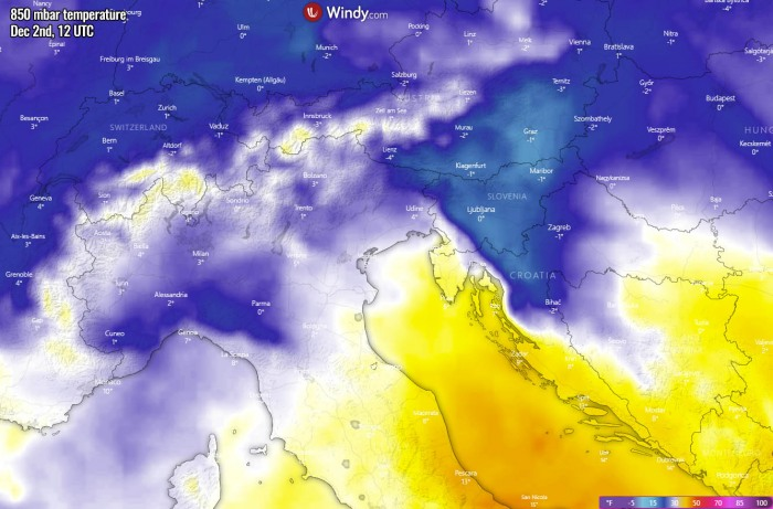 winter-forecast-snowstorm-slovenia-temperature-wednesday-afternoon