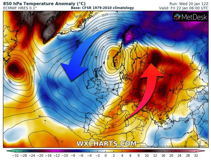 winter-storm-bomb-cyclone-gaetan-uk-temperature-anomaly