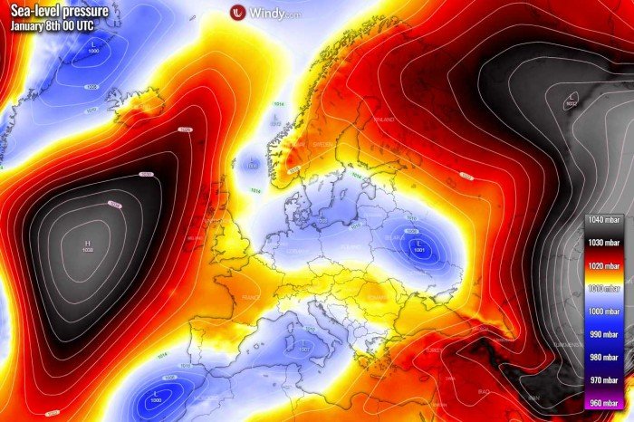 winter-storm-snow-europe-spain-pressure-thursday-night