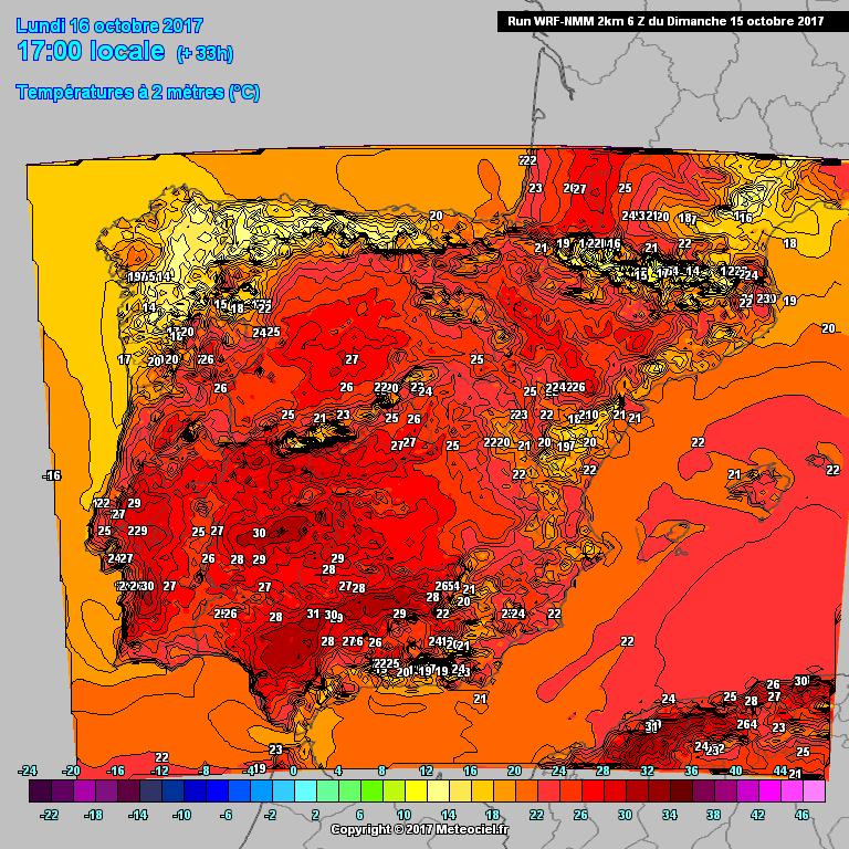 15102017_WRFNMM_Meteociel_Temp_Iberia