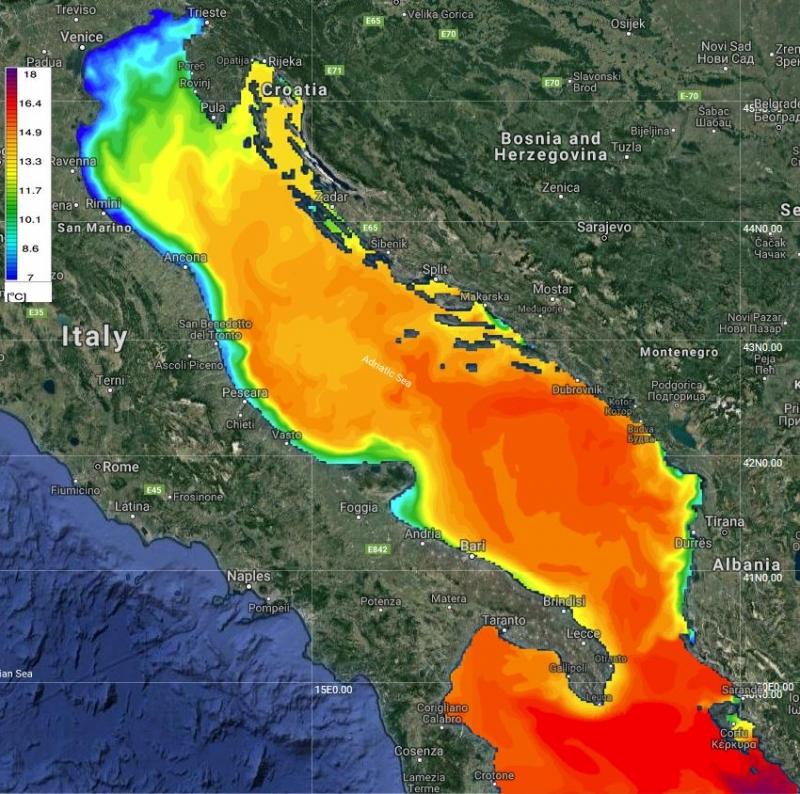 Adriatic SST