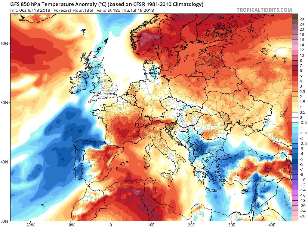 Europe S Pattern Overview For The Next 7 Days July 18 25 Severe