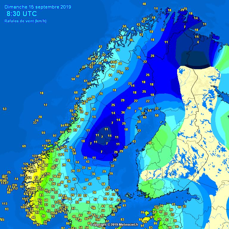 Hurricane-force winds hit Faroe Islands » Severe Weather Europe