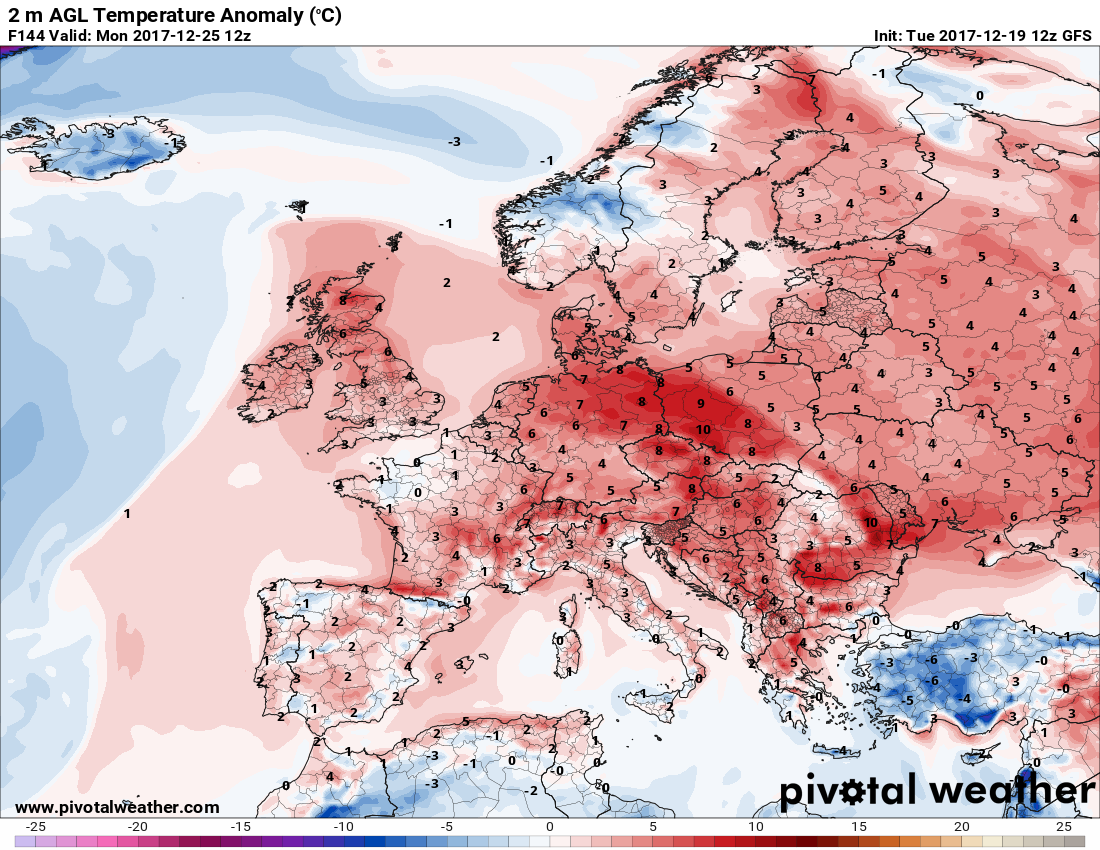 White and cold or warm Christmas this year Severe Weather Europe