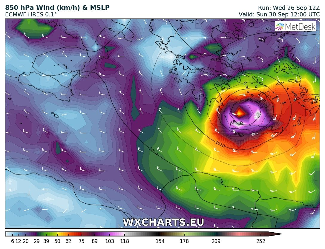 Medicane confirmed over the Ionian sea on Friday, expected to cross