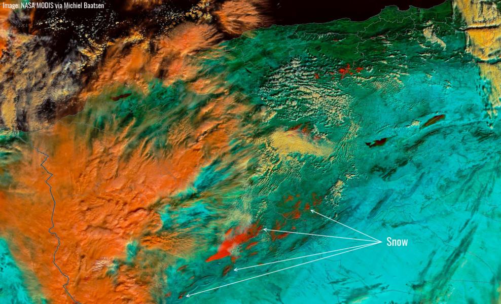 MODIS-snow-falsecolor