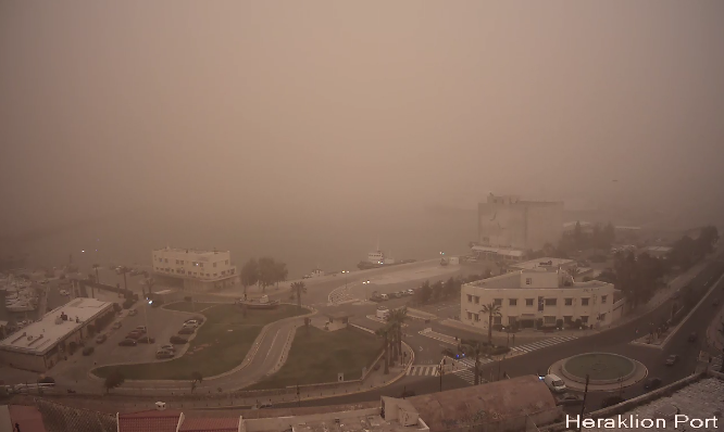 heraklion port webcam