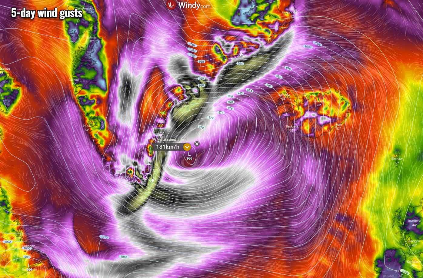 atlantic-hurricane-season-2021-larry-winter-storm-forecast-snow-greenland-winds