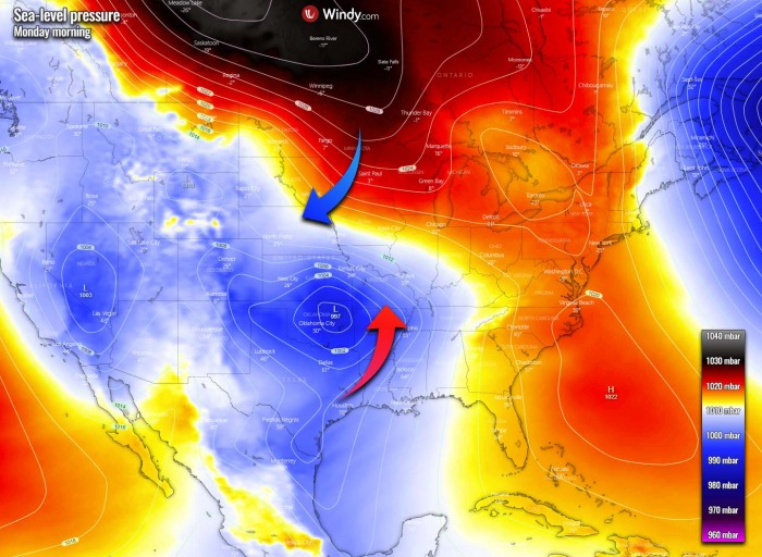 winter-storm-forecast-snow-midwest-united-states-pressure-monday
