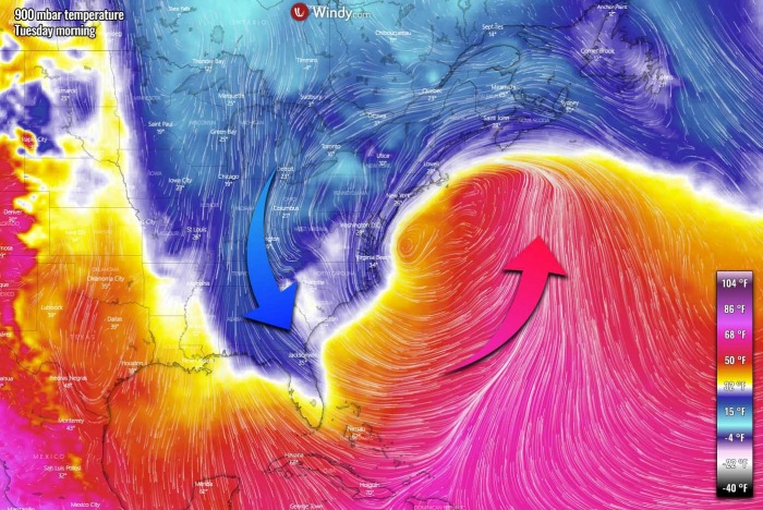 winter-storm-noreaster-snow-weather-forecast-temperature-monday