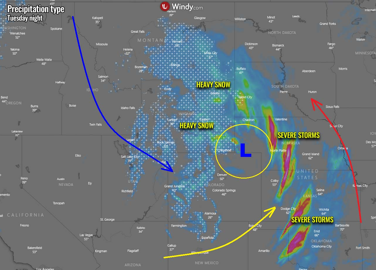 powerful-winter-storm-rockies-snow-severe-weather-fronts