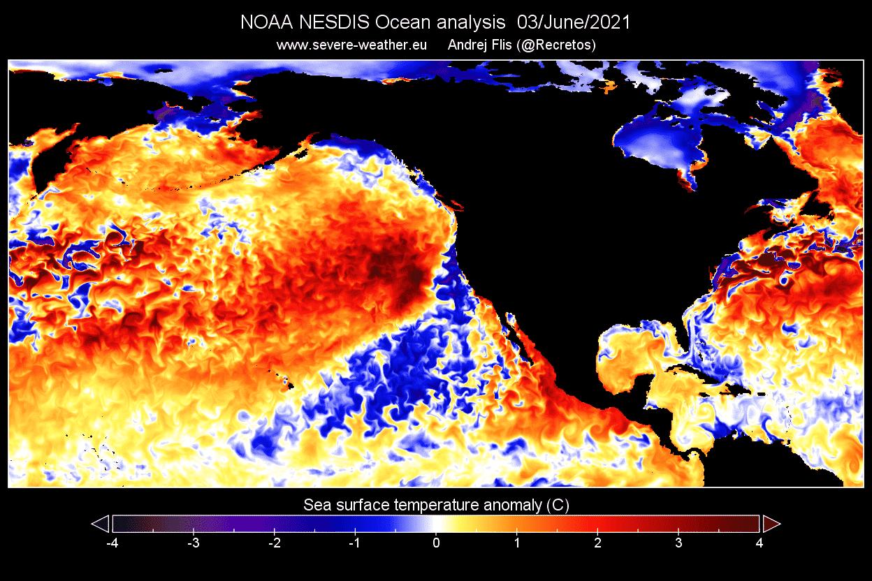 Ocean-heatwave-north-pacific-early-june-2021