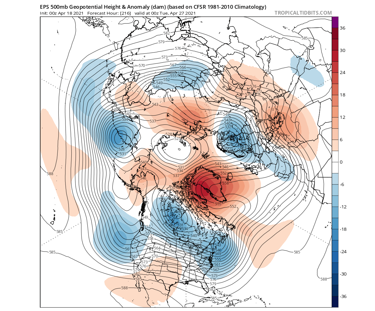 ecmwf-pressure-anomaly-weather-forecast-april-united-states-europe-arctic-day-10