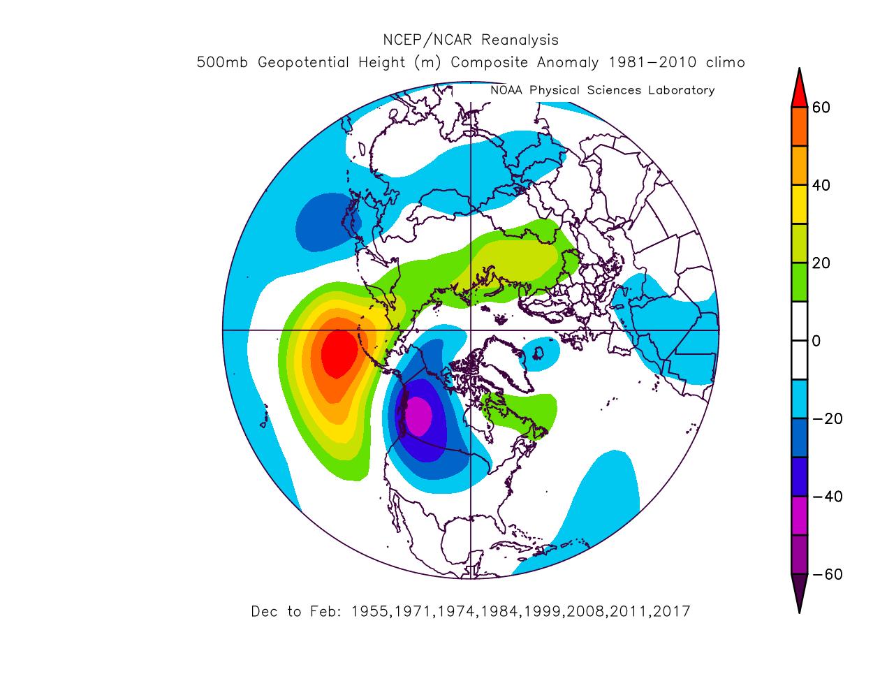 first-year-la-nina-winter-weather-pattern-reanalysis