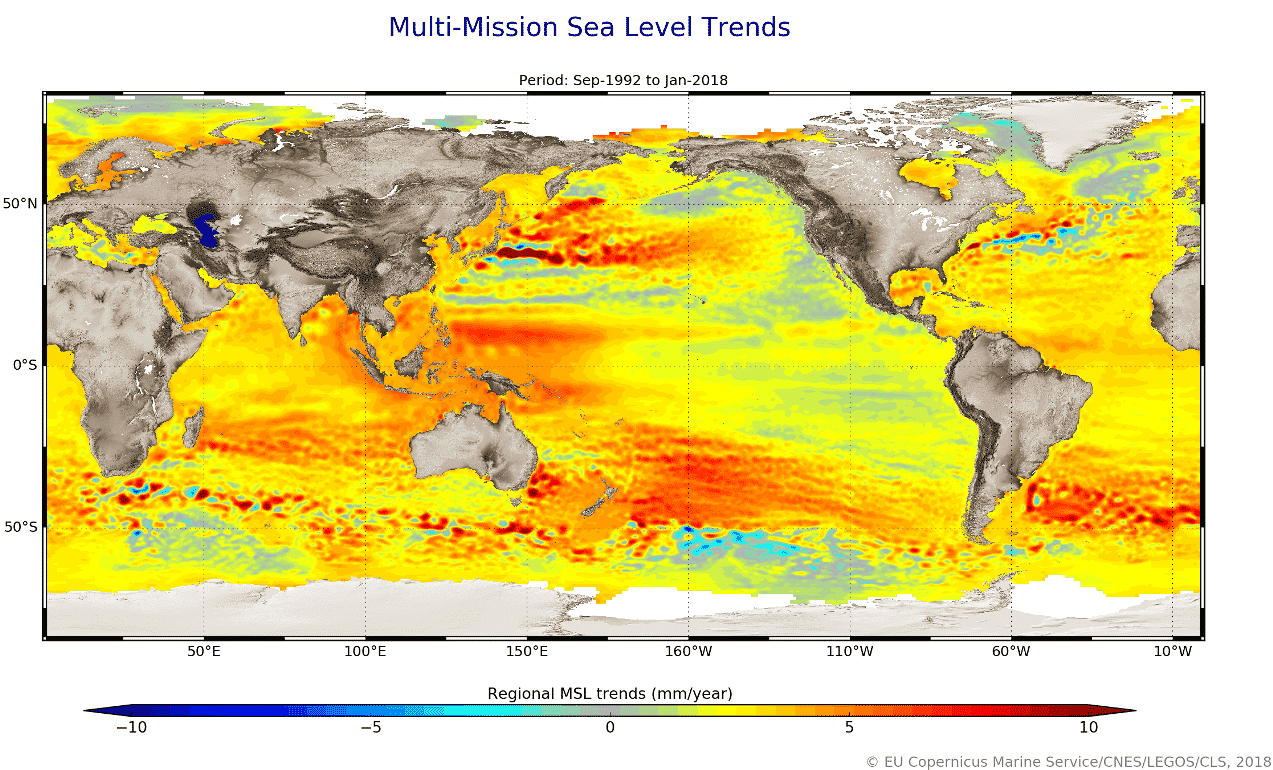 global-sea-level-rise-trends