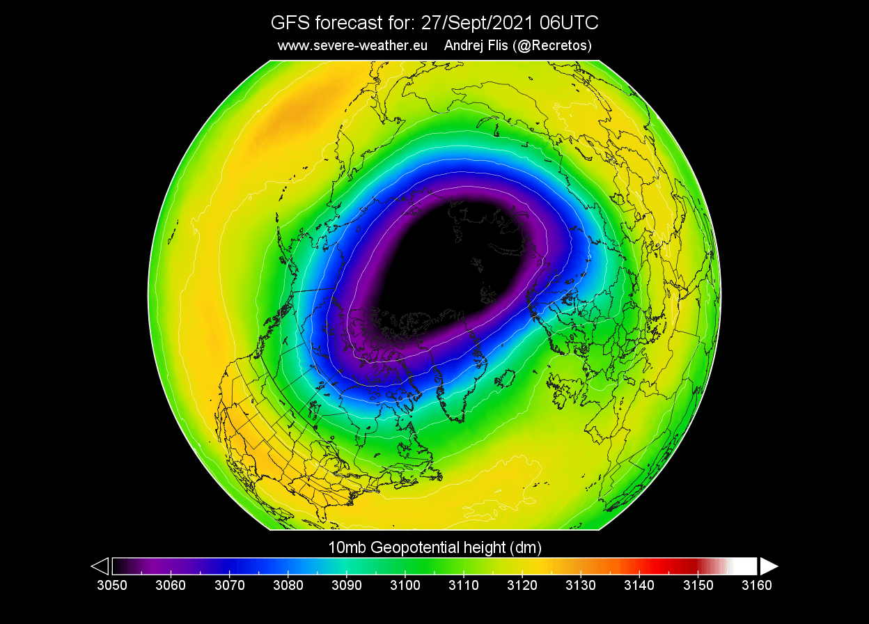polar-vortex-winter-2021-2022-stratosphere-pressure-forecast