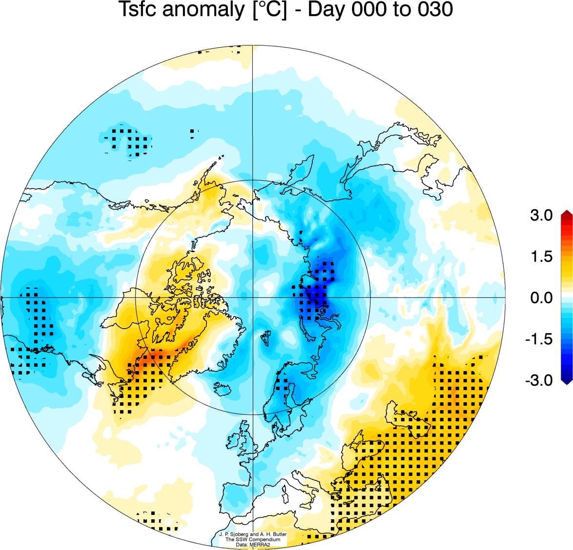 polar-vortex-winter-stratospheric-warming-surface-temperature-change